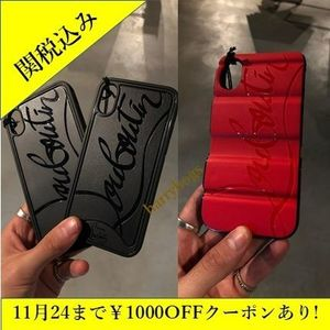 正規品 Christian Louboutin iPhone case for 7/8 7+/8+ X/XS