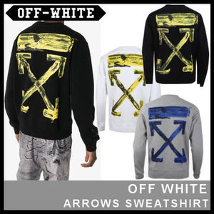 【Off-White】ARROWS SWEATSHIRT OMBA025F19E30010