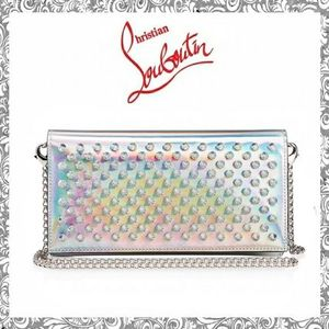 2WAY仕様 Christian Louboutin  Boudoir Chain Wallet CLUTCH
