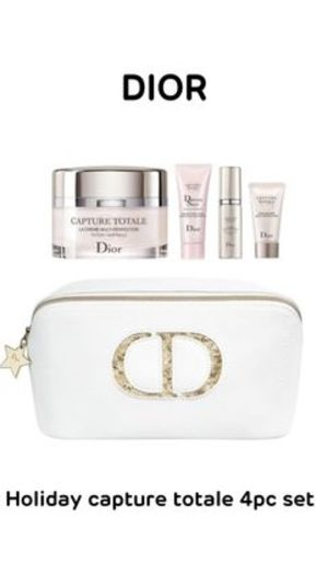 〈Dior〉★2019ホリデー★Capture totale 4pcセット(ポーチ付き)