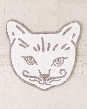 【送料無料】*Urban Outfitters* Kitten Face ☆バスマット
