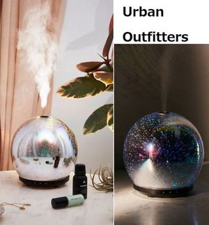 Urban Outfitters◆3D LED Gala エッセンシャルオイル Diffuser