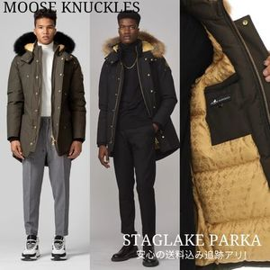 【MOOSE KNUCKLES】希少なゴールドプレート! STAG LAKE PARKA