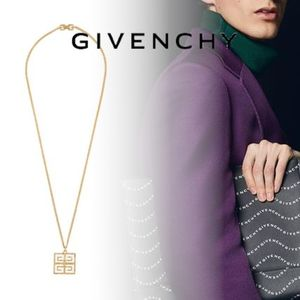 20SS<GIVENCHY ジバンシィ> 4G ペンダント ロングネックレス