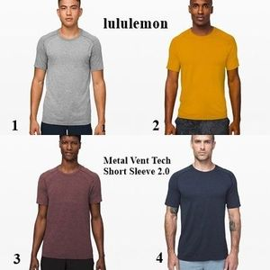 lululemon《大人気商品!》Metal Vent Tech Short Sleeve 2.0