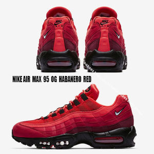 NIKE★AIR MAX 95 OG★HABANERO RED