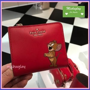 【kate spade×tom & jerry】コラボ★ 便利なコンパクト財布 ★