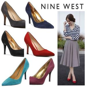 Sale★【Nine West】パンプス★Flax Suede Pump