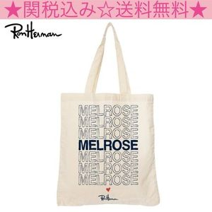 US限定!!★RON HERMAN★Exclusive MELROSEトート★