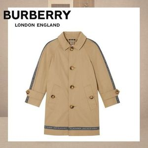 【Burberry】Logo Tape Car Coat ロゴテープ カーコート 3Y-14Y