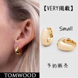 国内在庫・即納可能TOMWOOD Ice Hoop Small-Gold