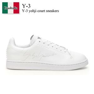 Y-3 yohji court sneakers