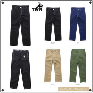 日本未入荷TWNのSimple Stitch Cotton Pants STLP3163 全4色