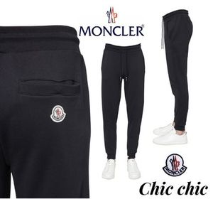 VIP価格!2020SS新作!MONCLER FRENCH FLAG COTTON SWEATPANTS