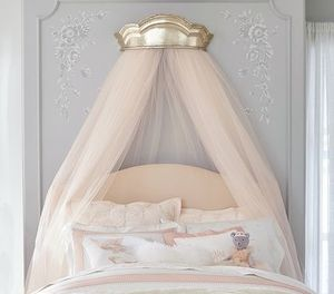 Pottery Barn Monique Lhuillier 天蓋 Metallic Cornice Canopy