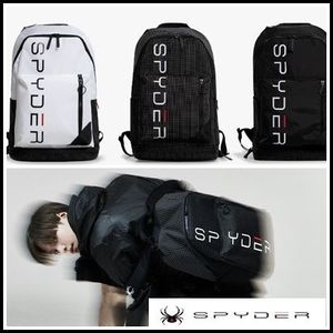 【SPYDER】 スパイダー LETTERING DAY BACKPACK
