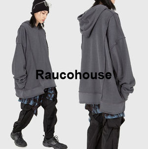 Raucohouse  REVERSE PANEL OVERSIZED HOODIE