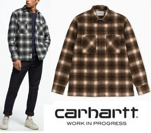 CARHARTT WIP L/S HALLECK SHIRT HALLECK CHECK 2カラー