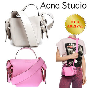 ACNE STUDIOS MUSUBI MICRO IN SOFT GRAINED LEATHER