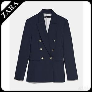★ZARA★ TAILORED DOUBLE-BREASTED BLAZER