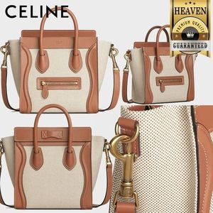 累積売上総額第1位!【CELINE】NANO LUGGAGE BAG_189242CIO