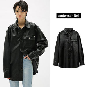 ANDERSSON BELL正規品★20SS★FAUXレザーシャツ★UNISEX