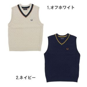 FRED PERRY TILDEN VEST F3208 09 / F3208 01 fpy0003