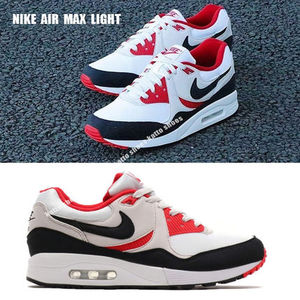 NIKE★AIR MAX LIGHT★WHITE/BLACK/VAST GREY/UNIVERSITY RED