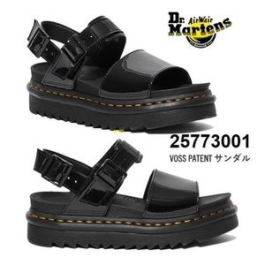 20SS新作! Dr. Martens VOSS パテント ジグサグソール サンダル