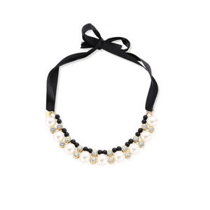 セレブ愛用商品! Vintage Styler★Darla Pearl Collar Necklace