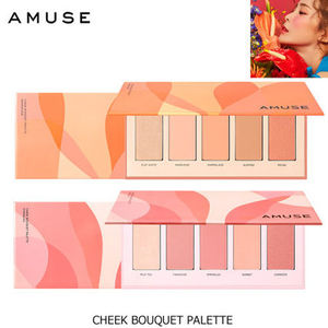 MLBBチークパレット♪AMUSE■CHEEK BOUQUET PALETTE