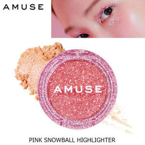 ホリデー限定♪AMUSE■PINK SNOWBALL HIGHLIGHTER/TOO MUCH BEAM