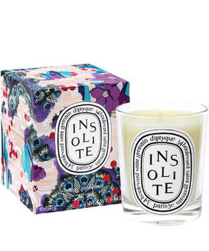 Diptyque☆ リバティコラボ☆Insolite☆キャンドル☆Xmasギフト