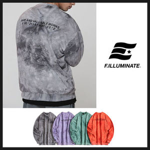 ◆ FILLUMINATE◆ Unisex Overfit Tiedye Sweat Shirt (全4色)