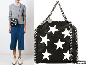 15AW SM060 STELLA McCARTNEY 'Falabella' star tiny tote