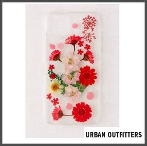 【URBAN OUTFITTERS】押し花スマホケース★iPhoneモデル多種