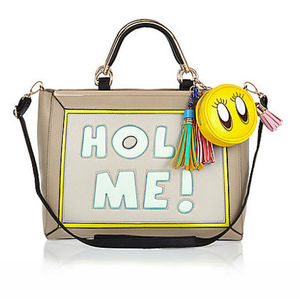 RiverIsland☆可愛い♪ fun slogan bag