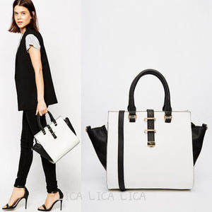 セール送料無料・国内発送ASOS Tote Bag With Winged Detail