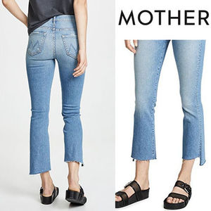 MOTHER Insider Crop Step Fray Jeans ストレッチ 関税込