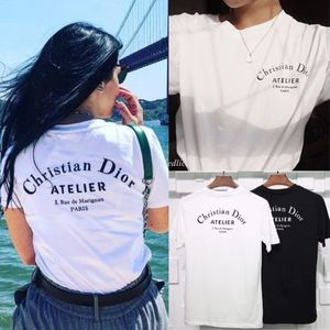 "☆Dior☆""Christian Dior Atelier"" ロゴ*Tシャツ*White"