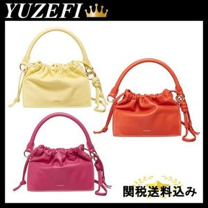 YUZEFI MINI BOM NAPPA SHOULDER BAG