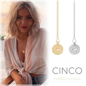 CINCO ☆ matilda necklace VOGUE掲載 送関込