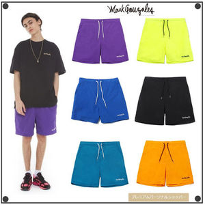 日本未入荷Mark GonzalesのM/G SIGN LOGO BEACH SHORTS 全6色