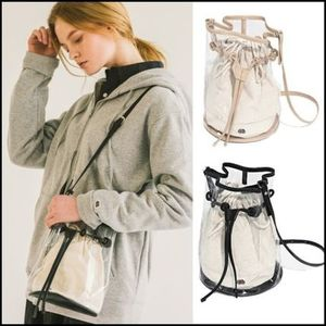 FRUIT OF THE LOOM★クリアーバケット  PVC BUCKET BAG