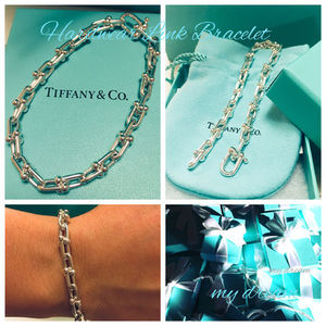 【Tiffany & Co】 Hard Wear Link Bracelet