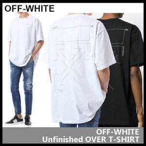 【Off-White】Unfinished OVER T-SHIRT OMAA038E19185003