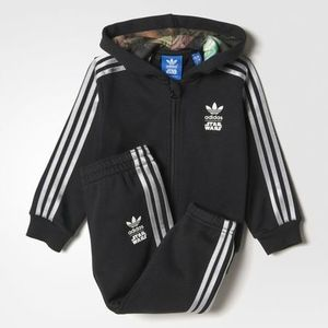 SALE!!【adidas Originals】Star Wars ジャージ上下セット 0-4歳