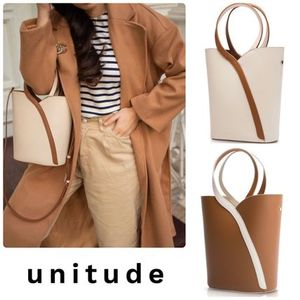 ★Unitude★ Gemini Handle Bucket Bag 2色/送料込