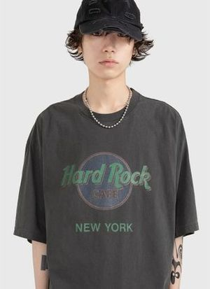 Raucohouse HARDROCK DYEING T-SHIRT