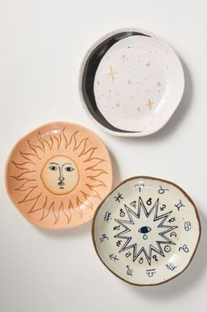 【Urban Outfitters】神秘的モチーフ☆陶製プレート Boho Plate